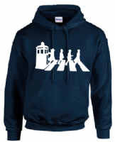 DR.ZEBRA HOODIE - INSPIRED BY DR.WHO MATT SMITH DAVID TENNANT BEATLES ABBEY ROAD